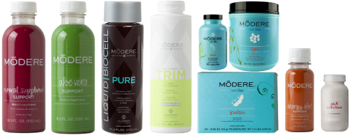 modere products liqiud